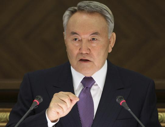 Kazakhstan's President Nursultan Nazarbayev holds his annual state of the nation address in Astana